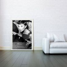 Audrey Hepburn Award - Decorative Arts, Prints & Posters,Wall Art Print, Poster Any Size - Black and White Poster